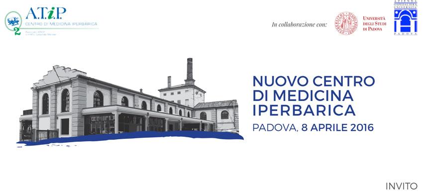 Inaugurazione del Nuovo Centro di Medicina Iperbarica di Padova