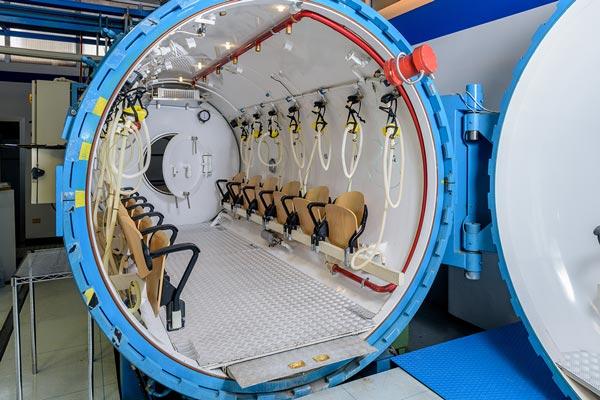 Ossigeno e camera iperbarica, risorse e potenzialità