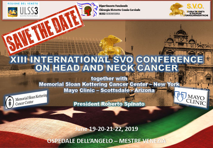 13° International SVO Conference on Head & Neck Cancer