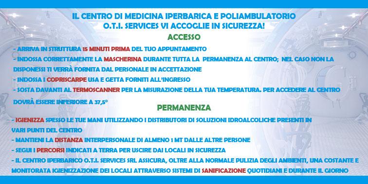 Accesso in sicurezza al poliambulatorio